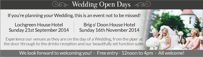 Wedding Open Days